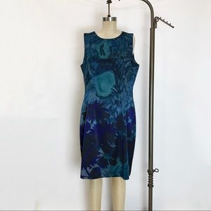 ELIE TAHARI Sleeveless Silk Dress. size 14
